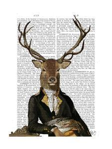 Deer in Chair by Fab Funky
