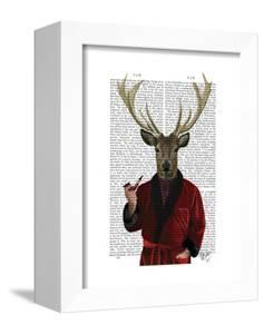 Deer in Smoking Jacket by Fab Funky