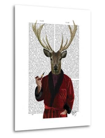 Deer in Smoking Jacket