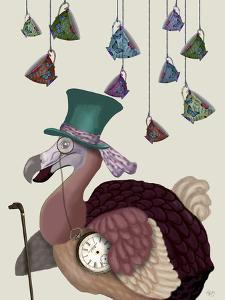 Dodo with Hanging Teacups by Fab Funky