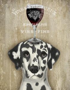 Dog Au Vin Dalmatian by Fab Funky