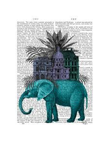 Elephant and Citadel by Fab Funky