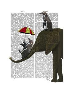 Elephant and Penguin by Fab Funky