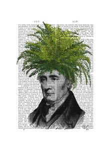 Fern Head Plant Head by Fab Funky
