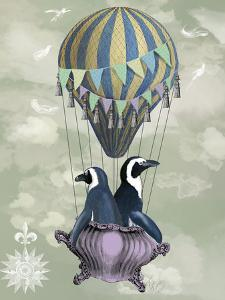 Flying Penguins by Fab Funky
