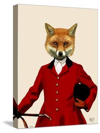 Fox Hunter 2 Portrait by Fab Funky