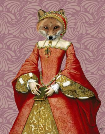 Fox Queen by Fab Funky