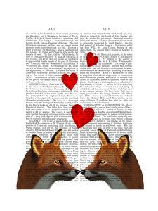 Foxes in Love by Fab Funky