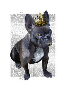 French Bulldog King by Fab Funky