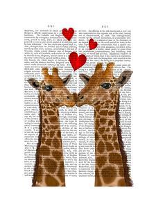Giraffe Love by Fab Funky