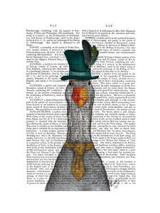 Goose in Green Hat by Fab Funky