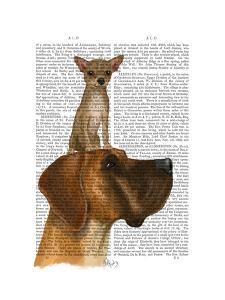 Great Dane and Chihuahua by Fab Funky