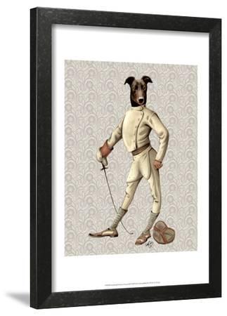 Greyhound Fencer in Cream Full