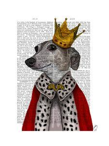 Greyhound Queen by Fab Funky