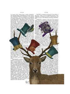 Hat Collector Deer by Fab Funky