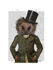 Hedgehog Rider Portrait by Fab Funky