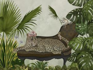 Leopard Chaise Longue by Fab Funky