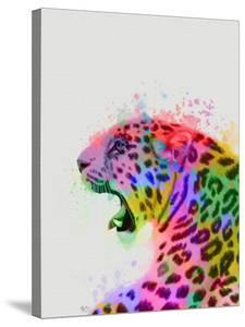 Leopard Rainbow Splash 2 by Fab Funky
