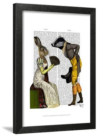 Look Of Love Regency Badger & Hare Couple