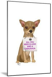 Love and Chihuahua by Fab Funky