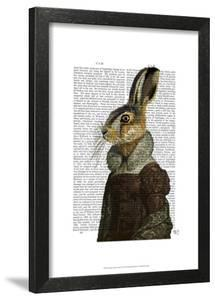Madam Hare Portrait by Fab Funky