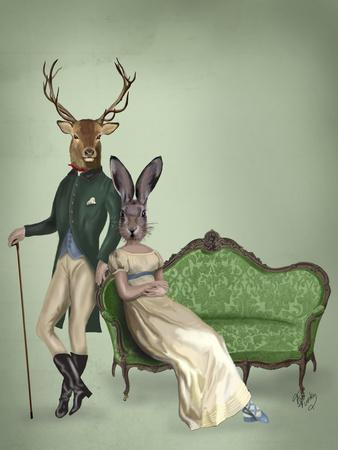 Mr Deer and Mrs Rabbit
