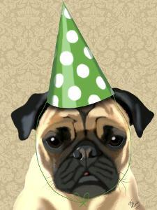 Party Pug by Fab Funky