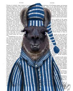 Pyjama Llama by Fab Funky