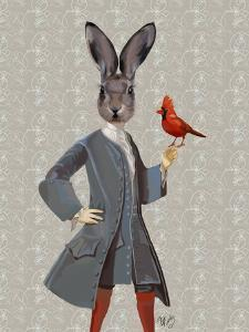 Rabbit and Bird by Fab Funky