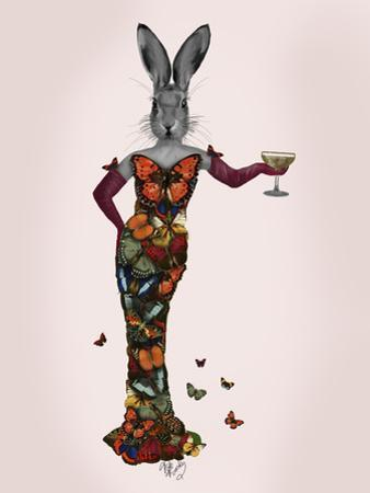 Rabbit Butterfly Dress by Fab Funky