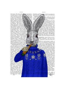 Rabbit In Sweater by Fab Funky