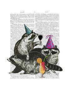Raccoon Party by Fab Funky