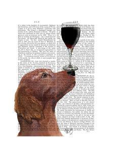 Red Setter Dog Au Vin by Fab Funky