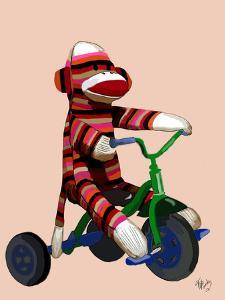 Sock Monkey Tricycle by Fab Funky