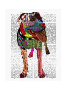 Staffordshire Bull Terrier - Patchwork by Fab Funky