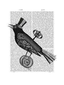 Steampunk Crow by Fab Funky