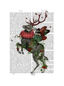 Strawberry Deer by Fab Funky