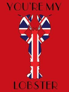 Union Jack You're My Lobster by Fab Funky