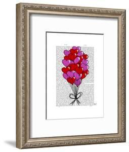 Valentine Heart Balloon Illustration by Fab Funky