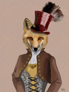 Vivienne Steampunk Fox by Fab Funky