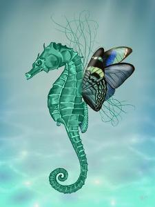 Winged Seahorse by Fab Funky