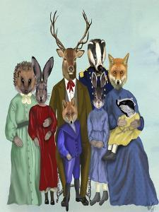 Woodland Family by Fab Funky