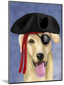 Yellow Labrador Pirate by Fab Funky