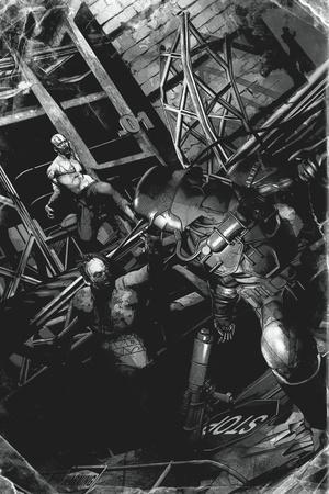 Zombies vs. Robots: No. 9 - Full-Page Art