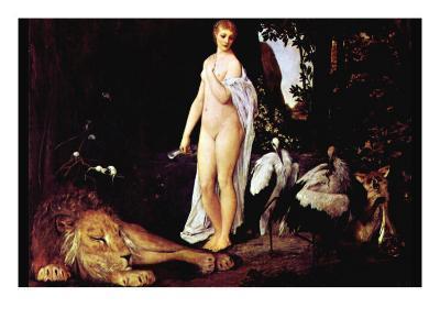 Fable-Gustav Klimt-Art Print