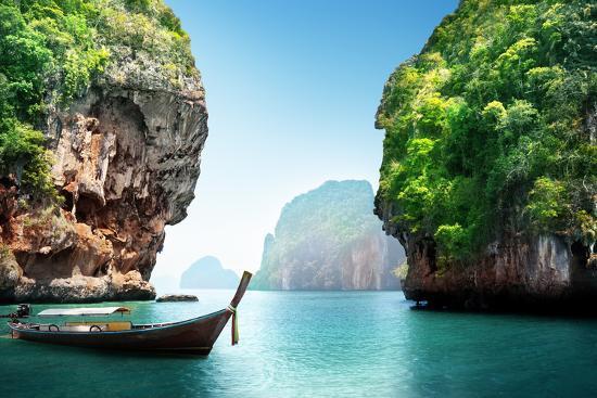 Fabled Landscape of Thailand-Iakov Kalinin-Photographic Print