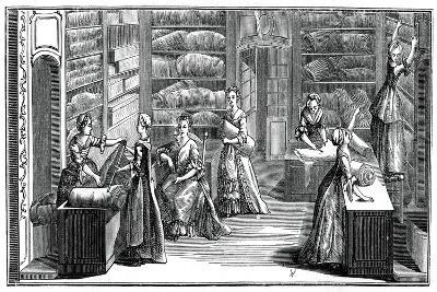Fabric Shop- Bonnardot-Giclee Print