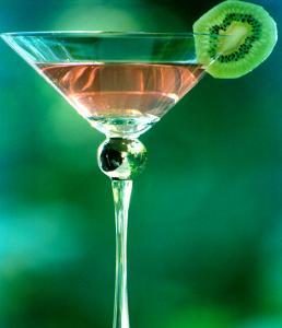 Martini with Kiwi Slice by Fabrizio Cacciatore