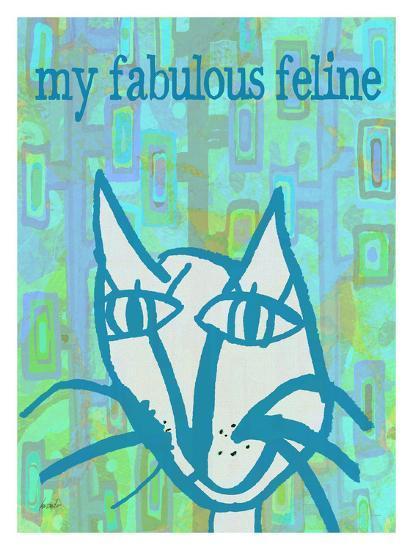 Fabulous Feline-Lisa Weedn-Giclee Print