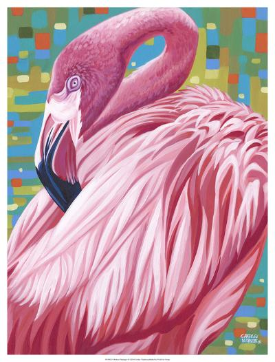 Fabulous Flamingos II-Carolee Vitaletti-Art Print